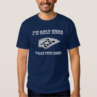 Camiseta del póker