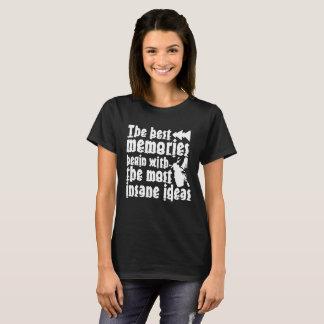 Camiseta del polluelo del motorista