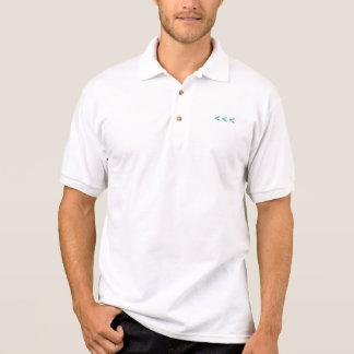 Camiseta del polo de Typeseries para los hombres