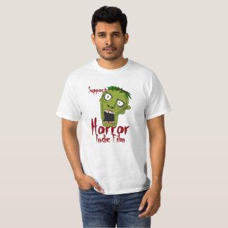 Camiseta del presupuesto de la película del indie