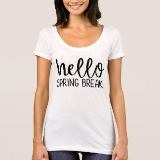 Camiseta del profesor de las vacaciones de