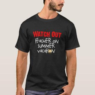 Camiseta del profesor de las vacaciones de verano