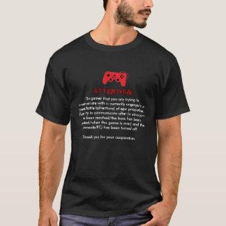 Camiseta del PSA del videojugador