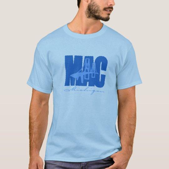 Camiseta del puente de Mackinaw