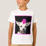 Camiseta del punk de la chihuahua