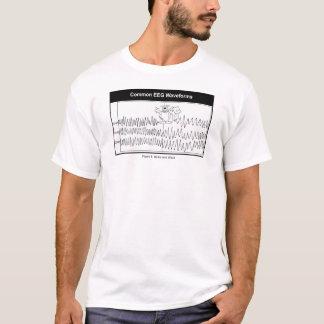 Camiseta del punto y de la onda