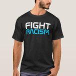 Camiseta del racismo de la Costura-Lucha del rap