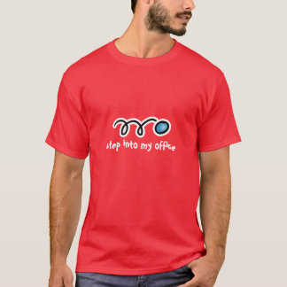 Camiseta del Racquetball con lema divertido