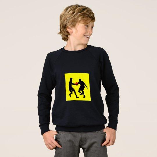 Camiseta del raglán de American Apparel del niño