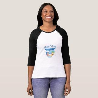 Camiseta del raglán de la ensenada del sello
