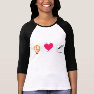Camiseta del raglán de la inmunización