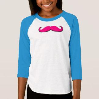 Camiseta del raglán de la manga de los chicas de