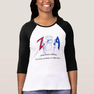 Camiseta del raglán de las señoras