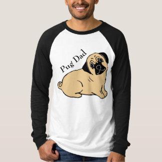 Camiseta del raglán de los hombres del papá del