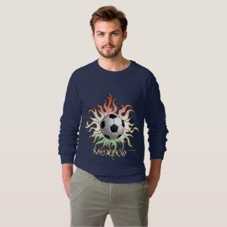Camiseta del raglán de los hombres tribales de Sun