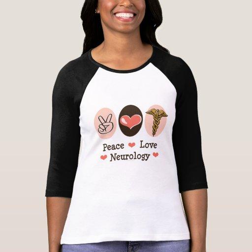 Camiseta del raglán del neurólogo de la neurología