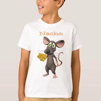 Camiseta del ratón de Toon del queso del Nacho