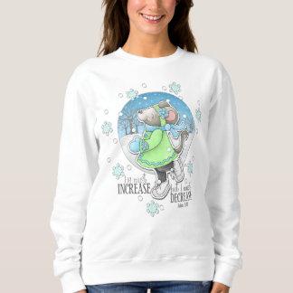 Camiseta del ratón del entrenamiento del invierno
