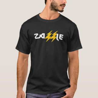 Camiseta del rayo de la roca de Zazzle