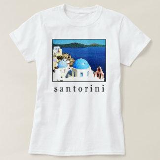 Camiseta del recuerdo de Santorini (hombres,