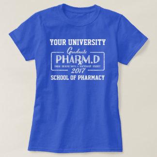 Camiseta del regalo de la graduación de la escuela