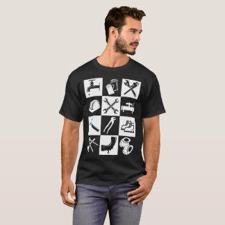 Camiseta del regalo de la profesión del fontanero