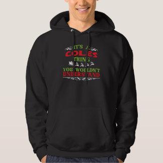 Camiseta del regalo para COLES