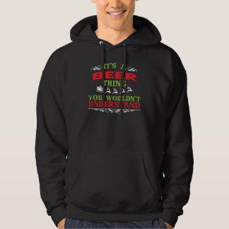 Camiseta del regalo para la CERVEZA