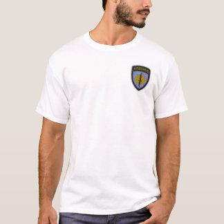 camiseta del remiendo del Pacífico de comando de