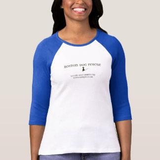 Camiseta del rescate del perro de Boston