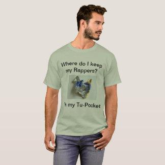 Camiseta del retruécano del Tu-Bolsillo
