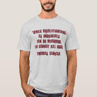 Camiseta del revolucionario de Thomas Sankara