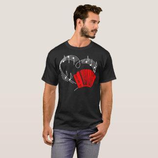 Camiseta del ritmo del latido del corazón del