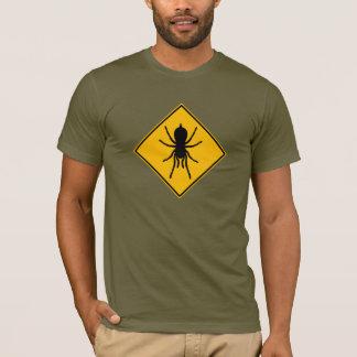 Camiseta del roadsign del Tarantula