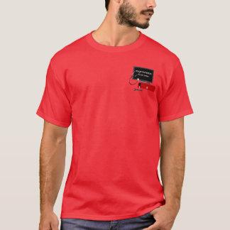 Camiseta del rojo del servicio de reparación del