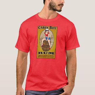 Camiseta del ron del muchacho de cabina