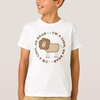 Camiseta del rugido del león