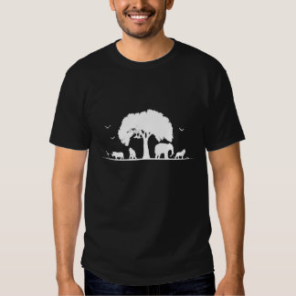 Camiseta del safari