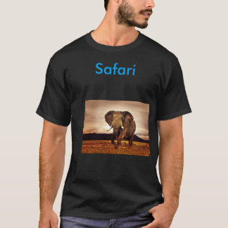 camiseta del safari