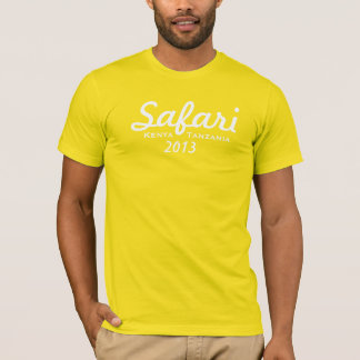 Camiseta del safari 2013