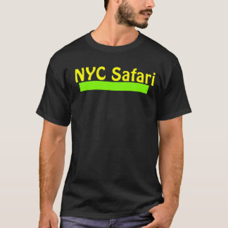 Camiseta del safari de NYC