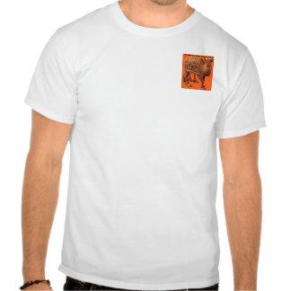 Camiseta del safari del camello