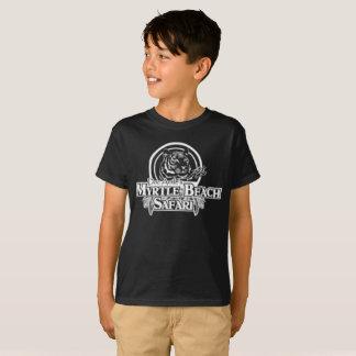 Camiseta del safari del MB de los niños - NEGRO
