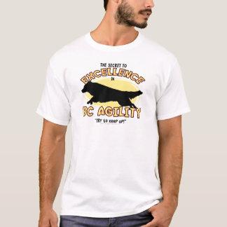 Camiseta del secreto del border collie de la