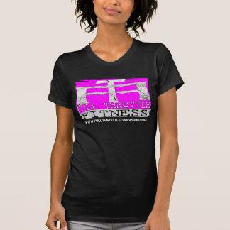 """Camiseta del """"sello"""" del rosa de la aptitud de la"""