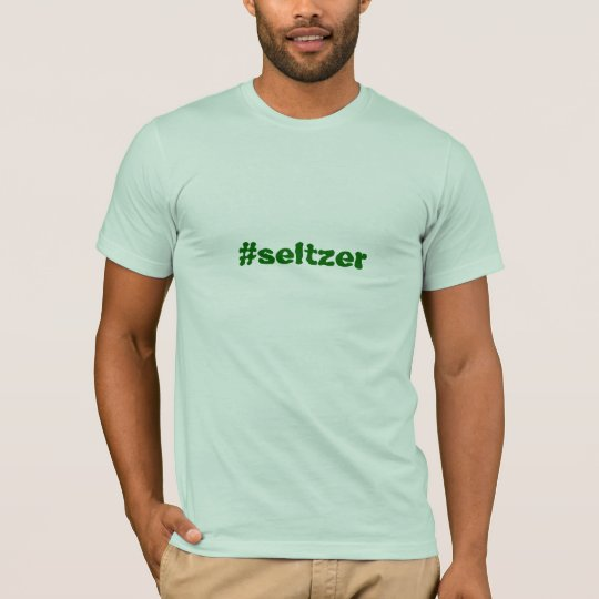 Camiseta del #seltzer