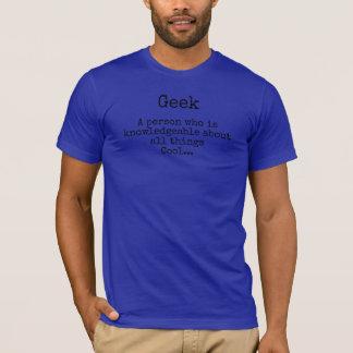 Camiseta del serenidad del friki o del empollón