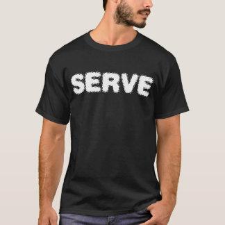 Camiseta del servicio