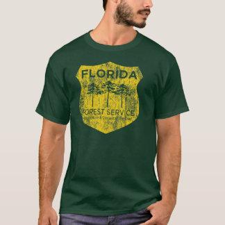 Camiseta del Servicio Forestal de la Florida