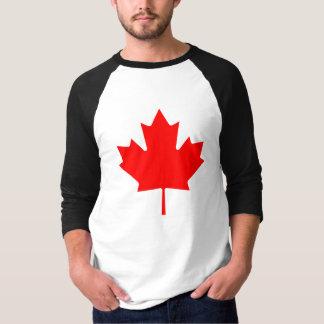 Camiseta del símbolo de la hoja de arce